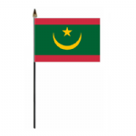 Mauritania  Country Hand Flag - Small